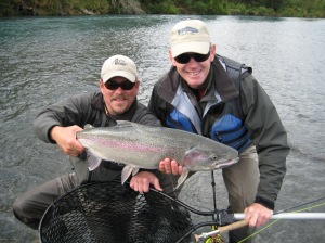 Thats my mate on the left, serious rainbow too