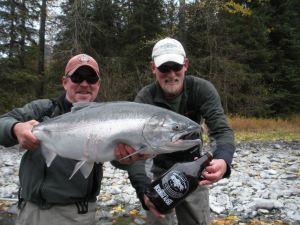 Silver Salmon and Glacier Brewhouse IPA