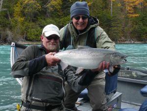 Kenai River Silver Salmon Alaska