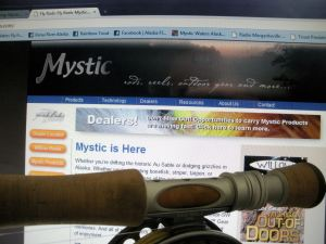 Mystic Rods Handle and Website