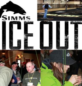 Simms Ice Out Guide Event