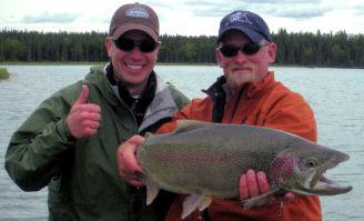 Kenai River Alaska June Rainbow